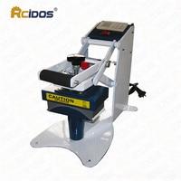 RCIDOS 8x16cm Manual hot cap machine,Baseball cap hat heat press machine,big size headdress,chapeau stamping machine