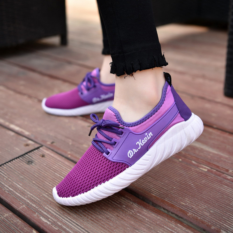 Women Shoes Woman Breathable Mesh Shoes Casual For Women Network Soft Casual Shoes dames sneakers damesschoenen zapatillas depor free shipping candy color women garden shoes breathable women beach shoes hsa21
