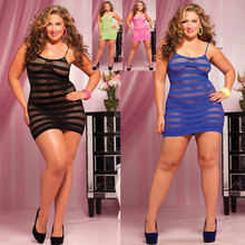 Free Shipping plus size sexy underwear plus size badydoll 2XL 3XL 4XL 3S66709 New fashion Hot Sale sexy classy babydoll(China)