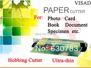 Nożyczki jeden biały przenośny przycinarka do papieru maszyna do cięcia papieru gilotyna do papieru dla A4 fotokartka papieru z boku linijka tanie i dobre opinie VD-BP-00011