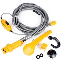 12V Portable Outdoor Camping Travel Car Pet Dog Shower Sea Swimming Outdoor Tools