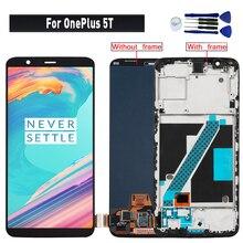 Original pour OnePlus 5T affichage lcd remplacement de lassemblage de lécran tactile pour OnePlus 5T A5010 lcd module décran daffichage