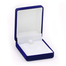 Engaging Excessive High quality Wedding ceremony Luxurious Cotton Crammed Necklace Bins Jewellery Show Present Bins 753L