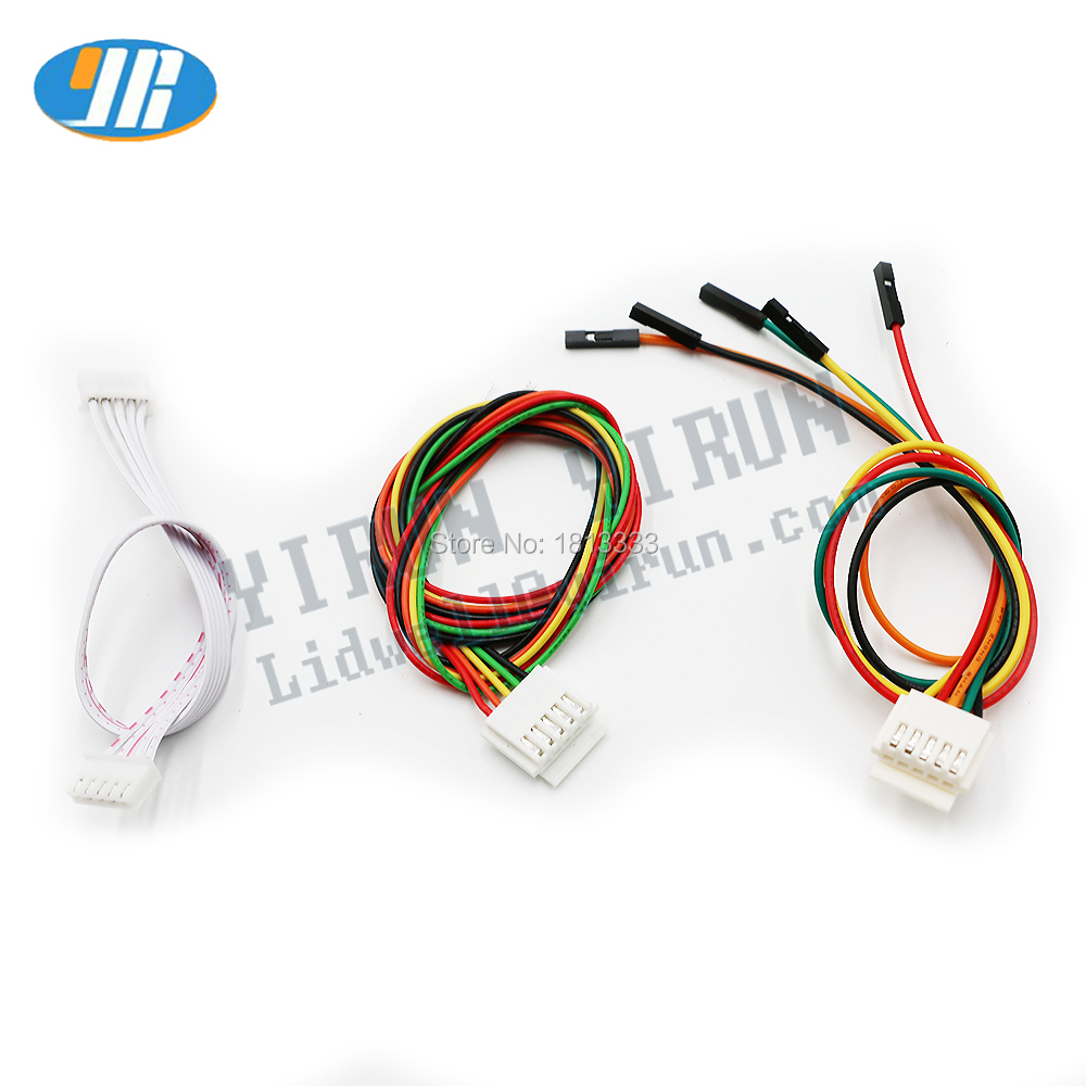 2pcs 4 Kind Of 5pin Wiring Arcade Sanwa Joystick Cable