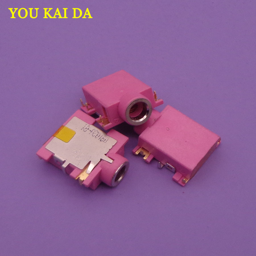 purple Laptop Audio Jack Connector DIP SMT SMD Stereo PCB plug 3.5 headphone jack 3 foot 2 fixed 3.5MM female power socket 20pcs smd to dip 0805 0603 0402 smt to dip capacitor resistor led smt pinboard pcb 2 54pin pitch fr 4