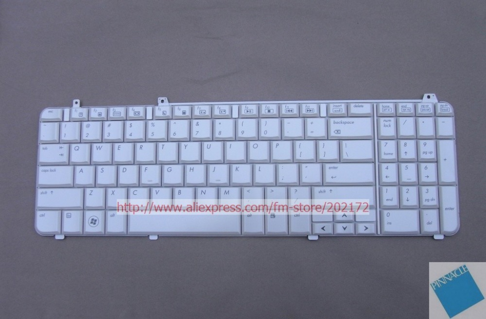 все цены на Brand New White Laptop  Notebook Keyboard 517864-001 530579-001 AEUT3U00230 For HP Pavilion DV6 series US онлайн