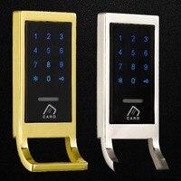Keyless Metal Digital electronic smart password code keypad RFID cabinet lock for Locker
