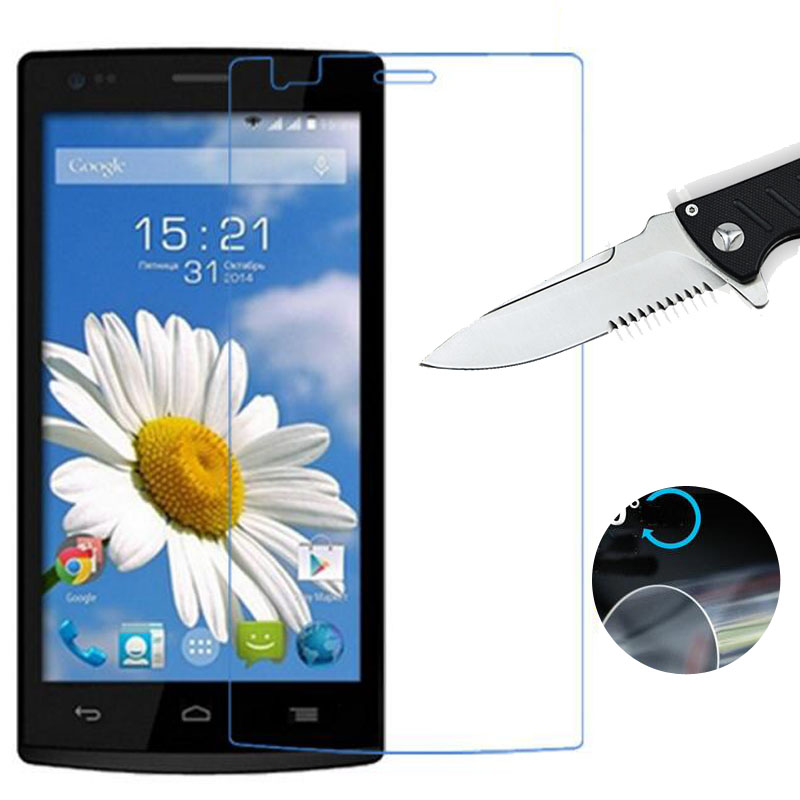 Nano Explosion-proof Soft Clear Screen Protector for Fly IQ4504 EVO Energy 5 / IQ4505 ERA Life 7 New LCD Film (NOT Glass)
