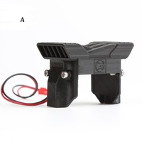 Electric Heat Radiator Cooling Fan Speed Controller ESC Cooling Hood Bracket Fit For TRAXXAS 1/10 Trx 4 Trx4 RC Car