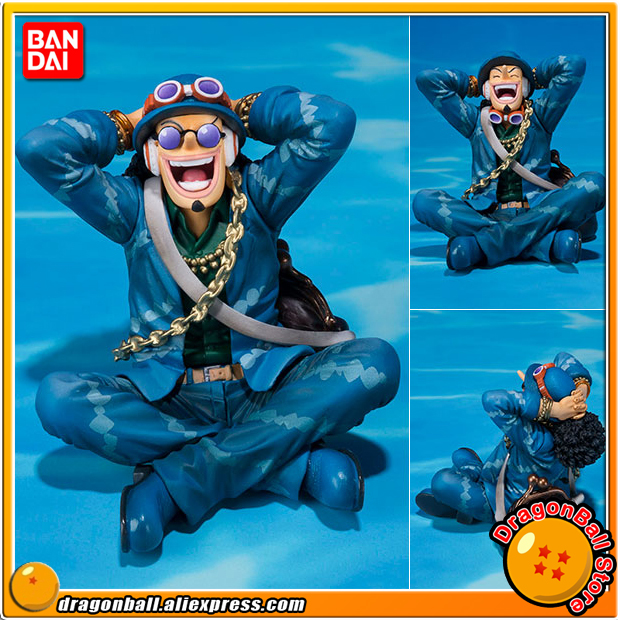 Anime ONE PIECE Original BANDAI Tamashii Nations Figuarts ZERO Collection Figure - Usopp -ONE PIECE 20th Anniversary ver.- bandai f zero one piece bandai set 2 years after the ice fire fist 5 anniversary edition piece