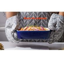 Посуда для выпечки сыра в западном стиле креативная бинауральная форма для выпечки чаша для риса керамическая квадратная печь столовые приборы