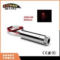 Focusable Laser Module Red Dot Laser Generator Diode 200 250mW 650nm DIY Mini Laser Light Accessory