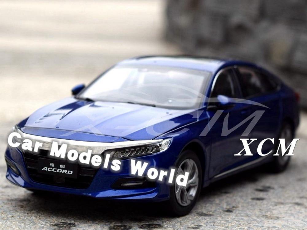 Modelo de coche fundido para Accord Sport Turbo 10 generación 1:18 (azul) ¡+ pequeño regalo!-in Troquelado y vehículos de juguete from Juguetes y pasatiempos    1