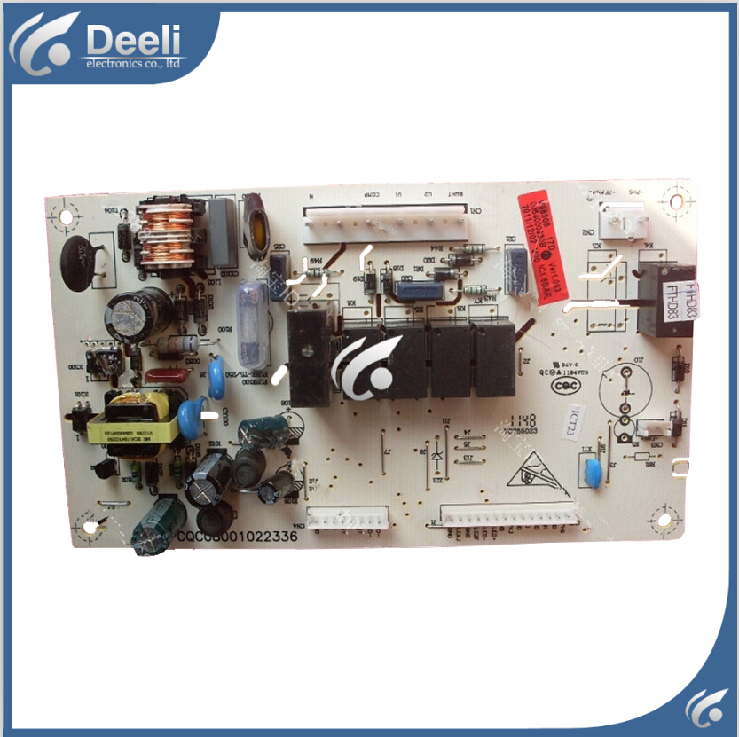 95% new good working 95% new Original for refrigerator pc board motherboard for Haier BCD-252SBV BCD-252KBSL BCD-225LSCEON SALE 95% new for haier refrigerator computer board circuit board bcd 219bsv 229bsv 0064000915 driver board good working