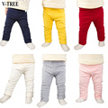 Algodão Além de Veludo Leggings Para Calças Do Bebê Para Crianças Roupas Para Meninos Primavera E Outono Roupa Do Bebê das Crianças Meninas calças
