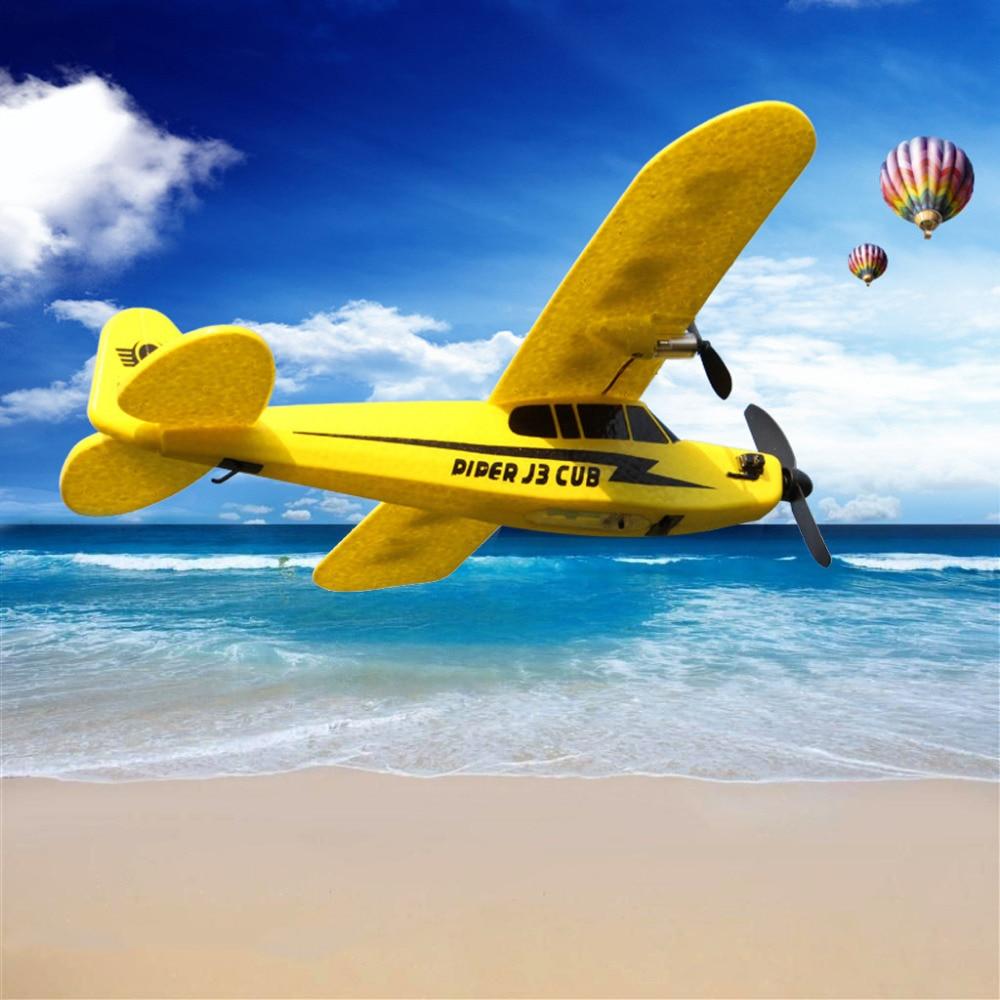 RC Uçak 150 m Mesafe Oyuncaklar Çocuklar Çocuklar Için Hediye RC Uçak 150 m Mesafe TRC Uçak Elektrik 2 CH Köpük açık Uzaktan Kumanda