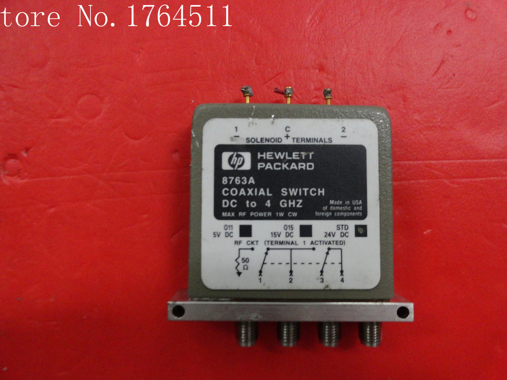 [BELLA] Supply SPDT RF - Original 8763A DC-4GHZ 24V