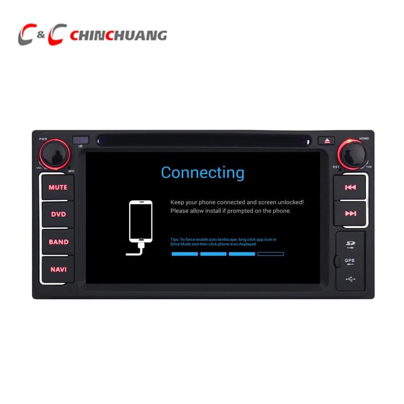2GB RAM 32G ROM Android 6.0 Car Radio Multimedia DVD Player for Toyota Universal Corolla GPS Navi BT SWC WiFi ,Support OBD DAB+