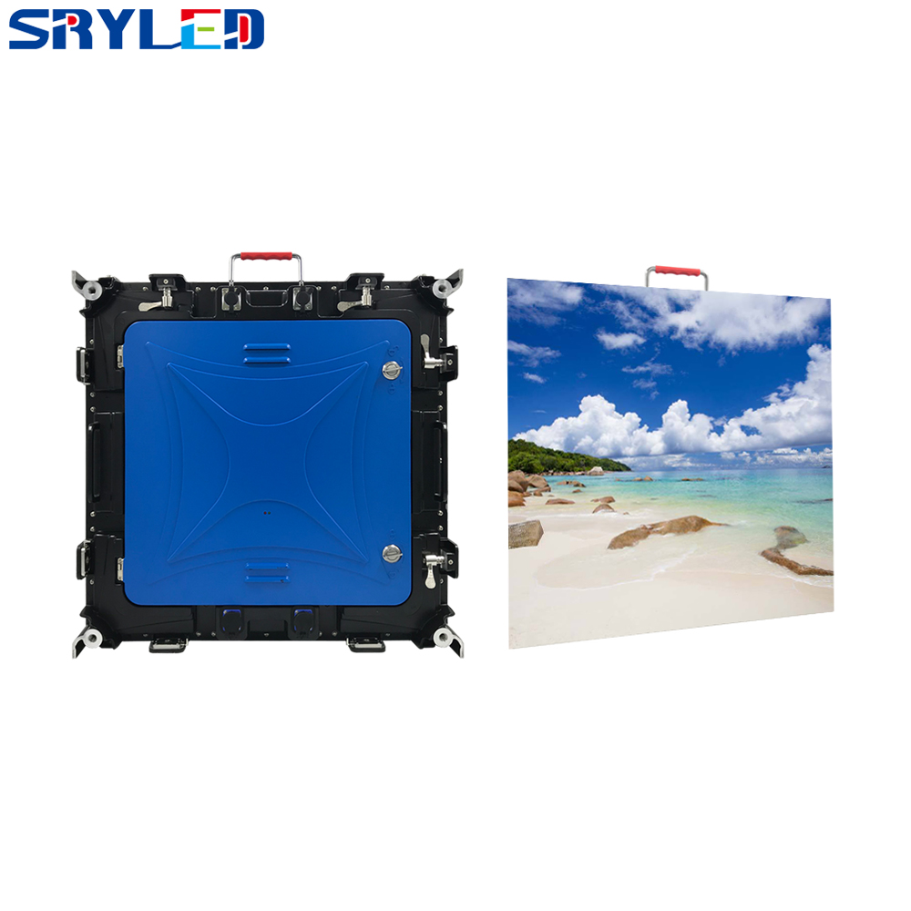 New P6 LED Display IP65 Waterproof LED Video Panel High Brightness Lightweight LED Video Wall