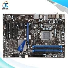 MSI P67S-C43 Original Used Desktop Материнских Плат P67 Сокет LGA 1155 DDR3 i3 i5 i7 32 Г SATA3 USB3.0 ATX