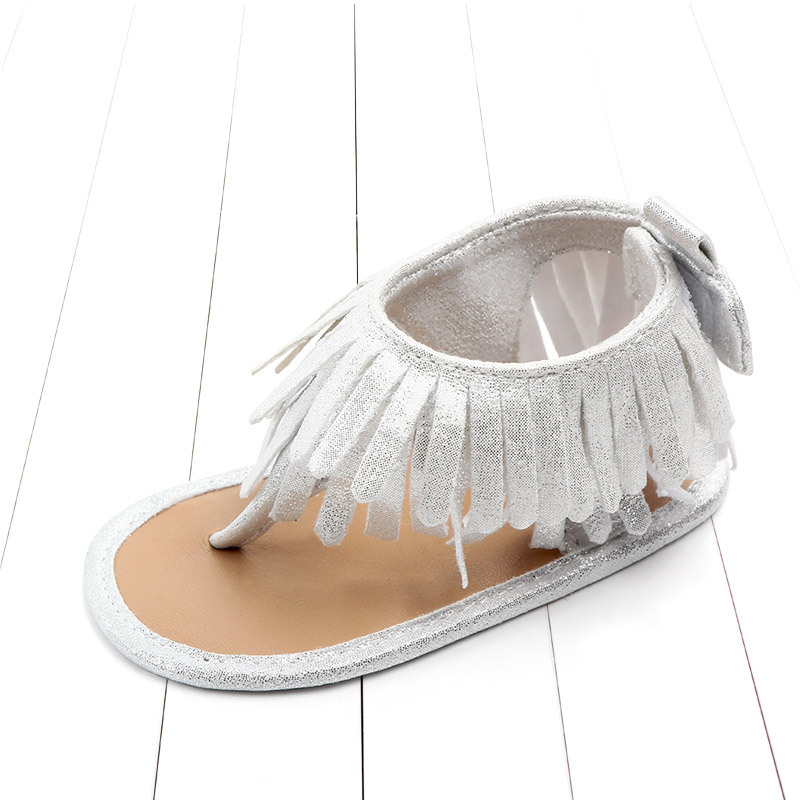 Baby comfortable sandals 2018 summer new boy girls beach shoes kids casual sandals children fashion Baby Girl Tassel Sandals (22)