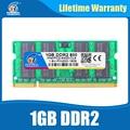 Nova marca Ram ddr2 1 gb 800 MHz PC2-6400 Sodimm Ram ddr 2 240PIN Para Todos Os Processadores Intel E AMD Laptop Mobo Vida garantia