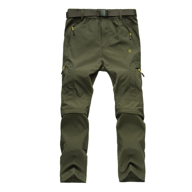 Hot Sales camping hiking Quick Drying pants Travel Active Removable hiking pants outdoor climbing pants Trousers