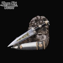 Home decoration sword beautiful stainless steel blades exquisite gift small sword European style knife