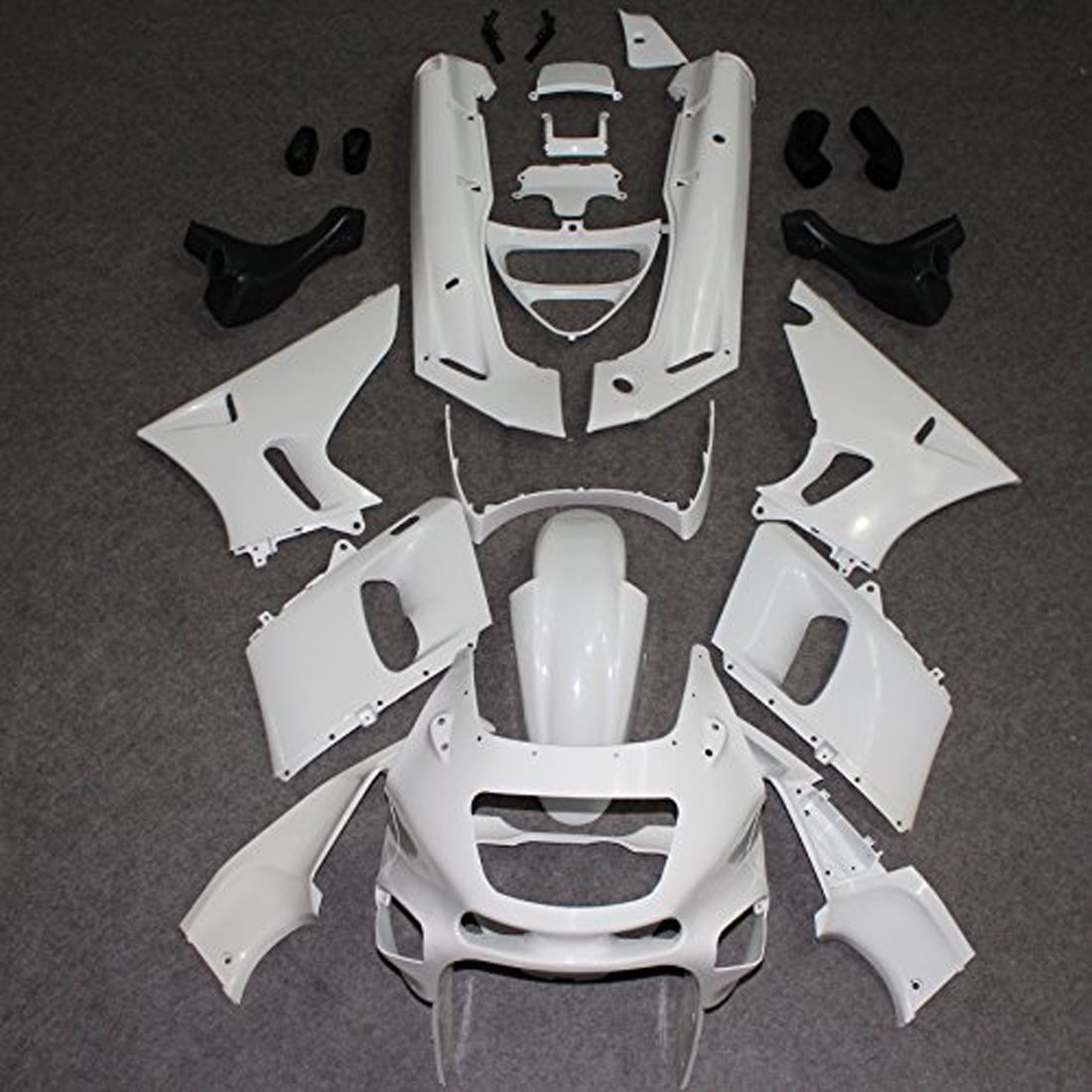 Motorcycle Unpainted Injection Molding Fairing Kit for Kawasaki ZZR 400 ZZR400 1993 2007 06 05 04