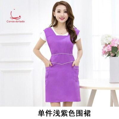 Koreaanse Versie Van Mode Schort Schoonheidssalon Werkkleding Nail Schort Vrouwen Keuken Koffie Winkel Verzendkosten Gratis Schort Volume Groot