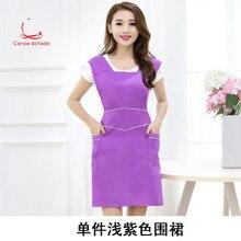 Korean version of fashion apron beauty salon work clothes nail apron women's kitchen coffee shop postage free apron
