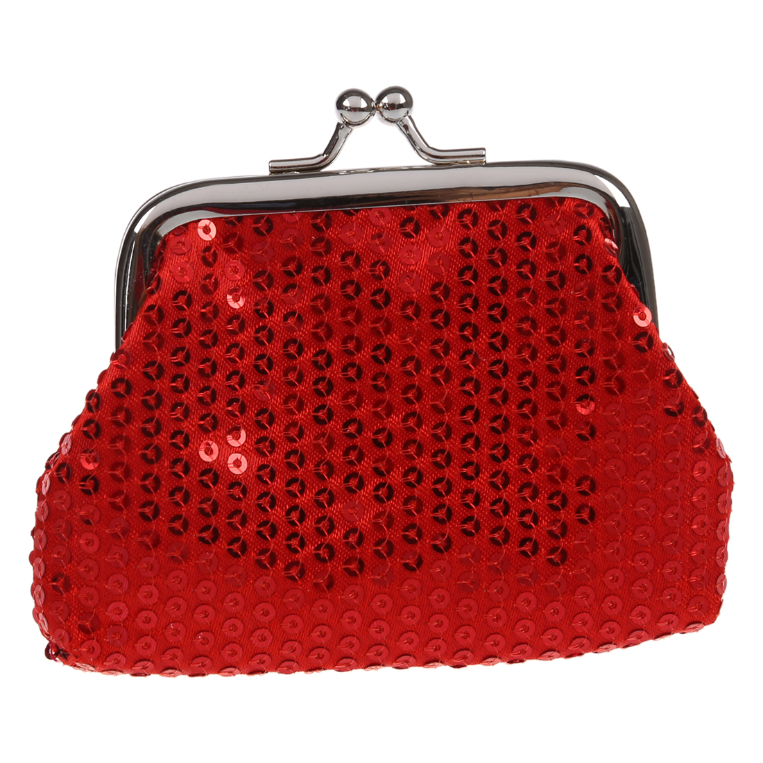 Women/girls Sequins Coin Purse Buckle Mini Wallet