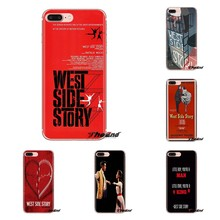 For Samsung Galaxy J1 J2 J3 J4 J5 J6 J7 J8 Plus 2018 Prime 2015 2016 2017 West Side Story 1961 Poster Movie TPU Transparent Case(China)