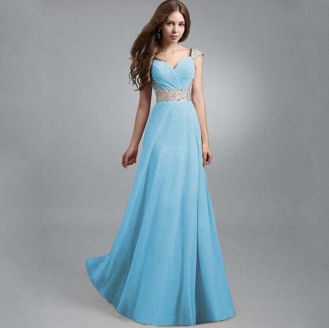 2016 Summer Sexy Women Chiffon Maxi Dress Long Dress Multiway Bridesmaids  Convertible Wrap Dresses Sequin stitching gauze dress d816519fd