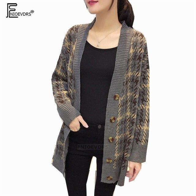 81d8fb66d Autumn Winter Coats Long Cardigans Women Fashion Long Sleeve Casual ...