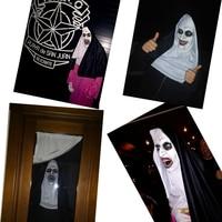 Страшные маски монашек #5