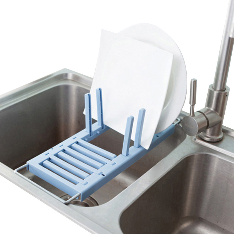 Retractable Kitchen Sink draining Storage Holders Racks Home Organization Tableware Cup Fruit Vegetable Organizer Bulk Supplies