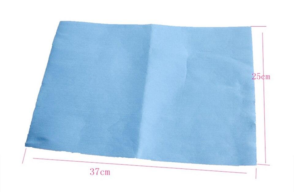 Image 4 - Высококачественные безточечные салфетки без ворса тряпки в рулоне синие для очистки окон и оконной пленки установка 500 штук/рулон QB 02-in Очиститель для краски from Автомобили и мотоциклы