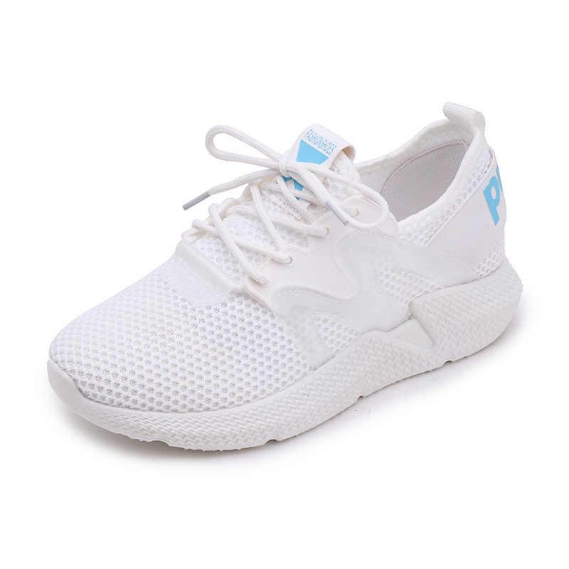 Mujer Para Lona Cuñas Deporte Zapatillas Aire De Moda 2018 Malla Casuales Zapatos 3AR4q5Lcj