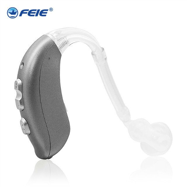 New ear plugs Rechargeable ear hearing aid mini device digital voice amplifier behind ear durable soft product Hot sale EU MY-26 my voice