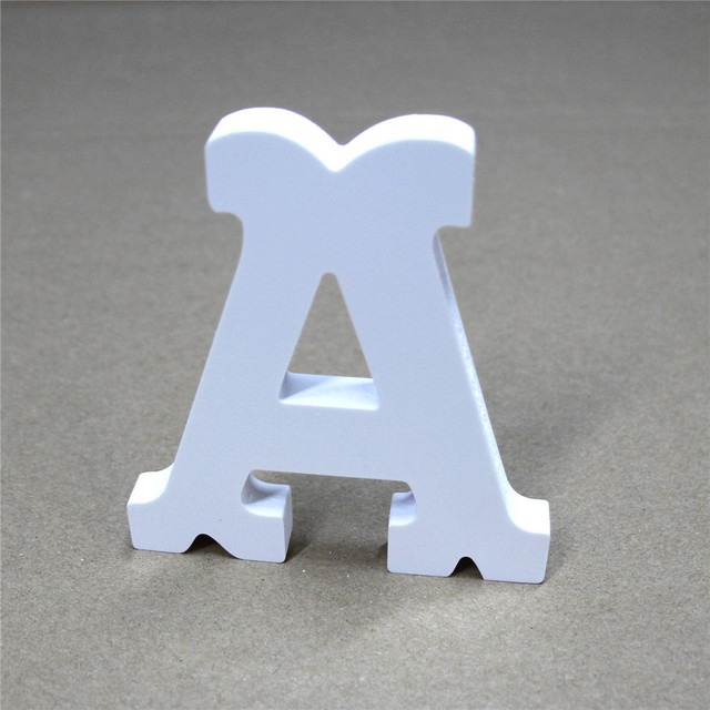 Special Fonts Wooden Wood Free Standing Letters Alphabet Word Home Love For Wedding Party Decoration S Gifts