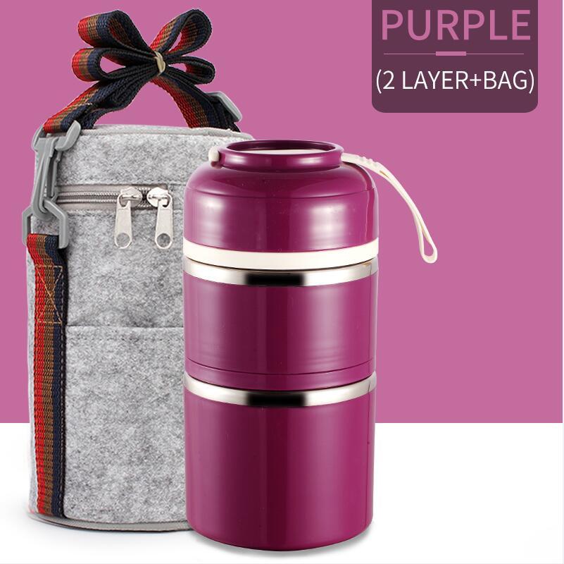 Purple 2 With Bag