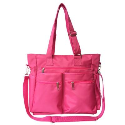 Шить розовый Цвет спортивная сумка для Для женщин Фитнес Gym Bag Для женщин сумка многофункциональные Тотализатор Сумка дорожная Duffle Bolsa ...
