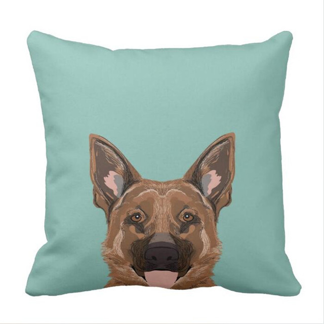 Skylar German Shepherd Gifts For Dog People Dog Throw Pillow Case In