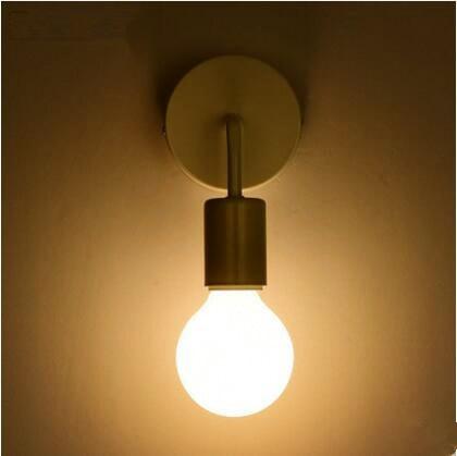 Sconces Black Modern Nordic LED Wall Lights For Home Lighting Stair ...