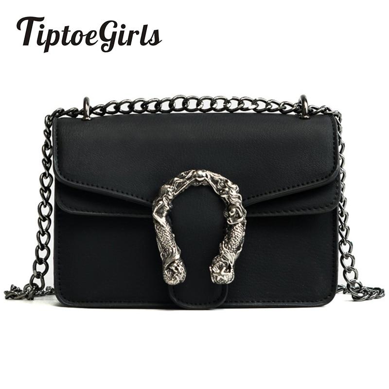 Tiptoegirls модные женские туфли сумки новый Дизайн девочек сумки диагональ качество кожи леди Сумки Винтаж цепи маленькая сумка