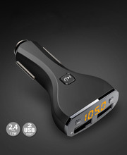 C30S Car MP3 Audio Player FM Transmitter Bluetooth Wireless FM Modulator Car Kit HandsFree USB Charger for iPhone & for Android