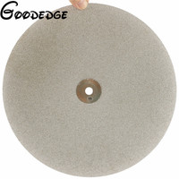 12 Inch300mmGrit 100 Electroplated Diamond Grinding Disc Wheel Coated Flat Lap Disk Lapidary Tools For Gemstone