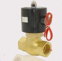 2 дюймов 2L серии 2/2 электромагнитный воды Клапан (для воздуха, воды и пара)