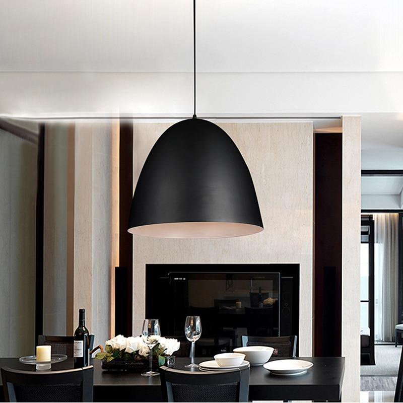 Здесь продается   The Nordic contracted style pendant light Restaurant bar  living room bedroom lighting E27 Hanging light  Свет и освещение